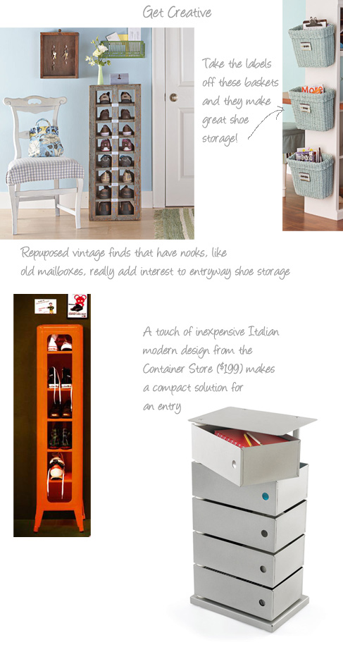 Beau Sources Clockwise From Top Left: Do It Yourself U2013 Savvy Shoe Storage, Do It  Yourself U2013 Double Sided Desk, Container Store U2013 5 Bin Storage Tower, Via  Marie ...